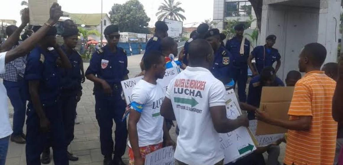 Cinq militants de la LUCHA en garde à vue au parquet général de Matadi