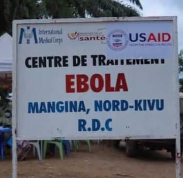 Nord-Kivu : Un nouveau cas de la maladie à virus Ebola notifié à Biena