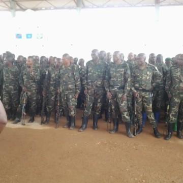 Soldats FARDC formés