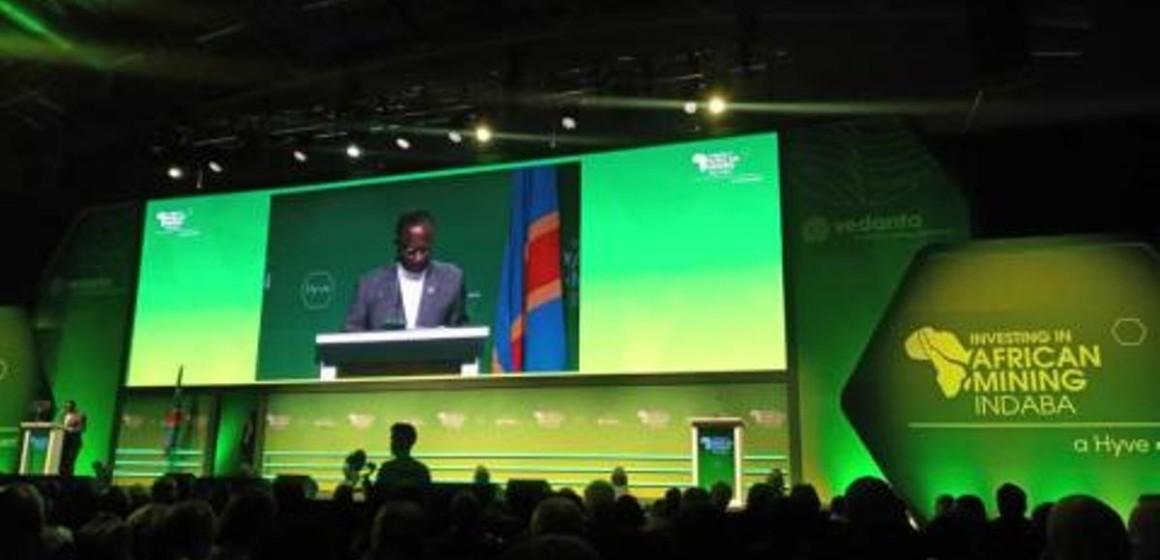 Sylvestre Ilunga Ilunkamba à la conférence minière Indaba 2020