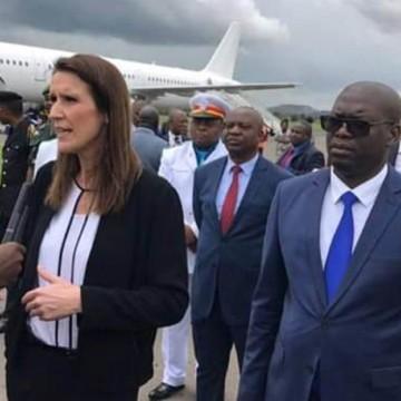 Sophie Wilmès a rouvert le consulat de Belgique à Lubumbashi