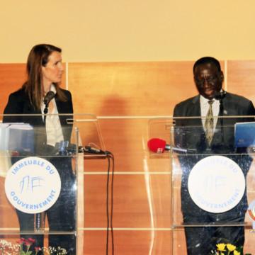 Sophie Wilmès a rencontré le gouvernement congolais