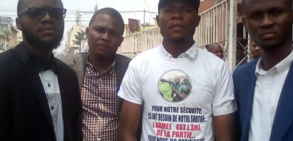 Le collectif Allez y les Fardc a déposé un mémo à l'hôtel de ville de Kinshasa
