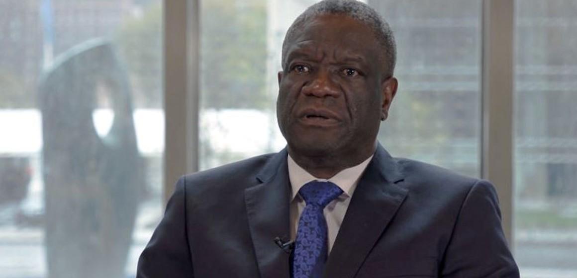 Covid-19 : Le Docteur Mukwege lance un appel à la vigilance et à la mobilisation citoyenne