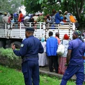 Début de rapatriement des 1400 burundais clandestins qui campaient à Goma
