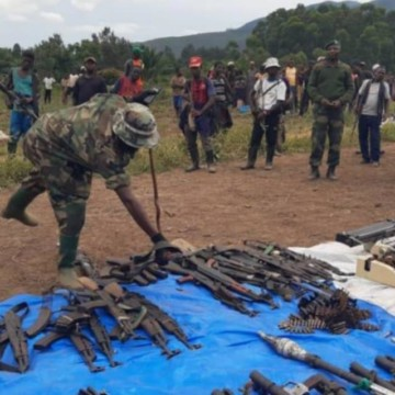 Nord-Kivu: le seigneur de guerre « Kakule Je t'aime » se rend aux FARDC avec 280 hommes