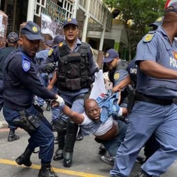 Affrontement entre la police Sud-africaine et des congolais à Cape Town