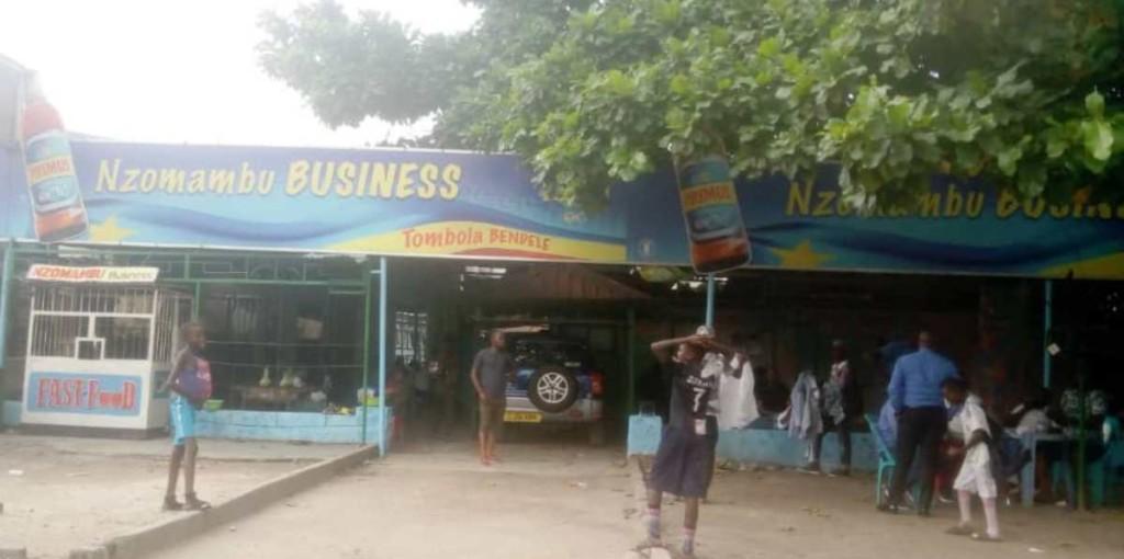 Terrasse à Kinshasa