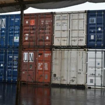 Nord-Kivu: L'UNPOL remet 22 containers à la Police nationale congolaise à Goma
