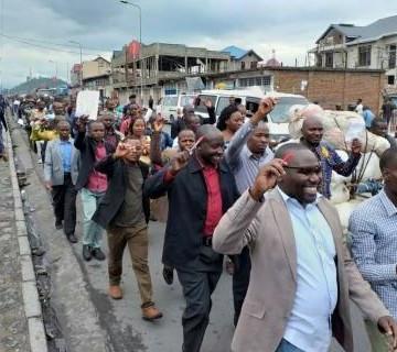 Goma : La police empêche la marche des enseignants réclamant les arriérés de salaire