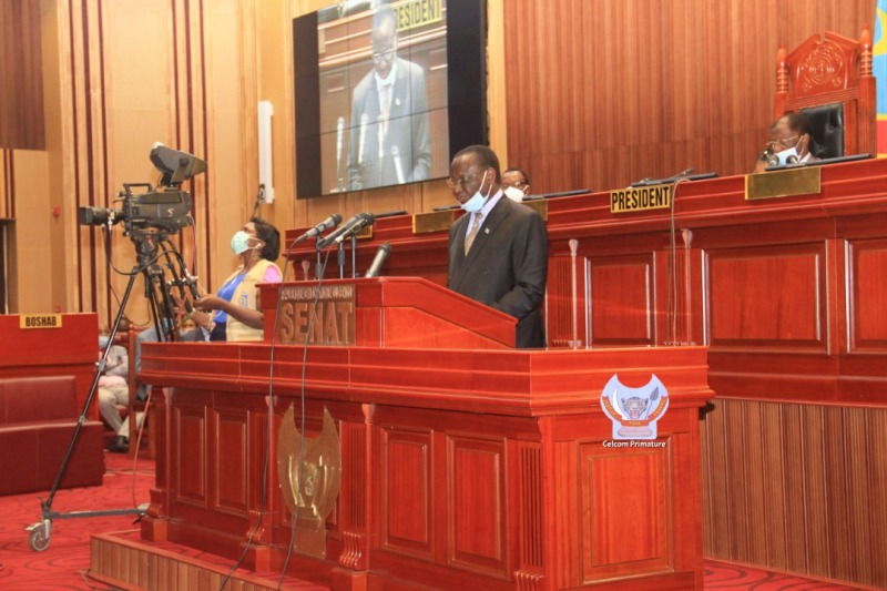 Gestion du Covid-19 : Ilunkamba satisfait les sénateurs