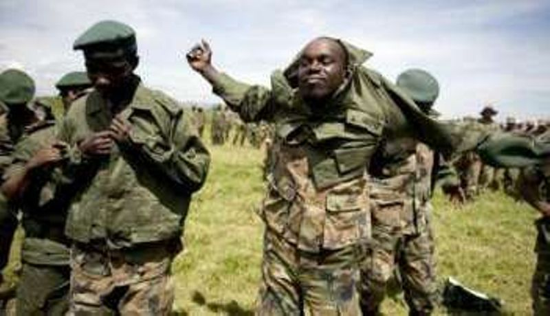 Ituri : plus de 5 terroristes ADF se rendent aux FARDC à Boga et Tchabi