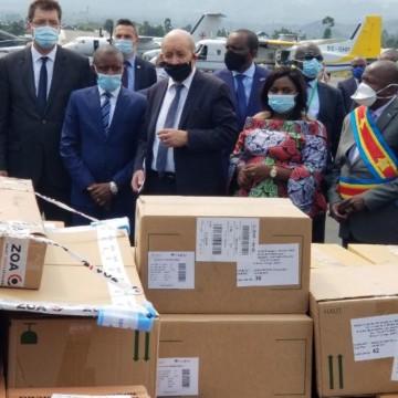 Covid-19: l'UE a apporté un lot important de matériels de prévention au Nord-Kivu