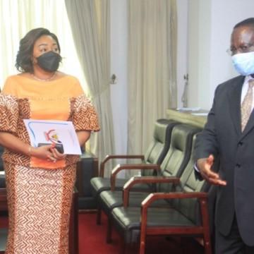 Denise Nyakeru Tshisekedi embarque Sylvestre Ilunkamba dans la lutte contre la drépanocytose