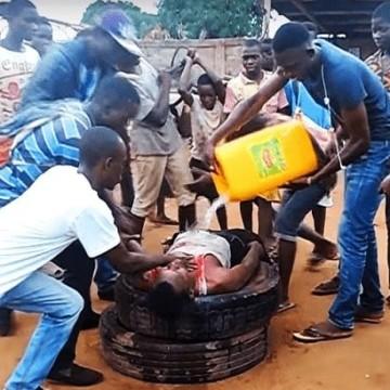 Justice populaire à Goma