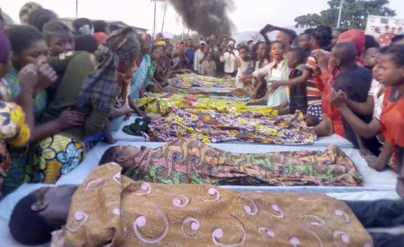 Au moins douze personnés tuées par un soldat ivre à Sange (Sud-Kivu)