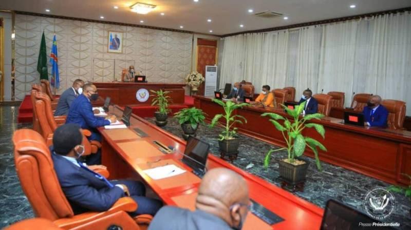 Réformes électorales : 13 personnalités signataires de l'appel du 11 juillet, reçues par le Président  Félix Tshisekedi