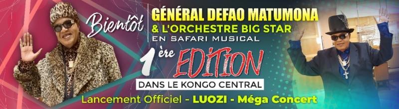 Le Général Defao bientôt en Safari musical au Kongo Central