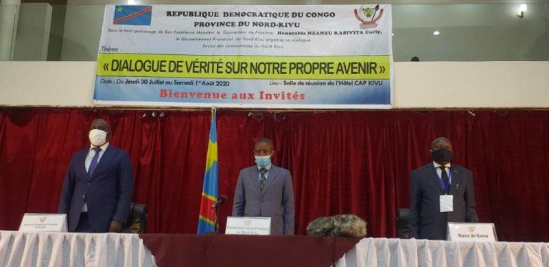 Nord-kivu: le gouverneur Carly Nzanzu lance le dialogue social intercommunautaire à Goma