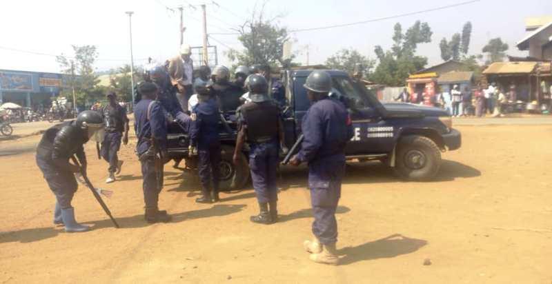 Beni : la police interpelle 28 personnes dans un bouclage à Mabakanga 2