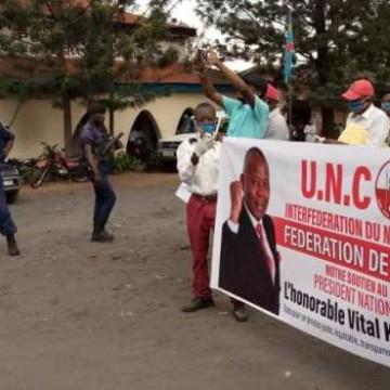 Goma : la marche des militants de l'UNC étouffée par la police