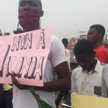 La marche contre Ronsard Malonda dispersée par la police à coup de gaz lacrymogènes