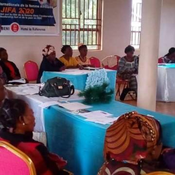 Beni-journée de la femme africaine : la SOFEPADI rappelle le rôle de la femme dans la recherche de la paix