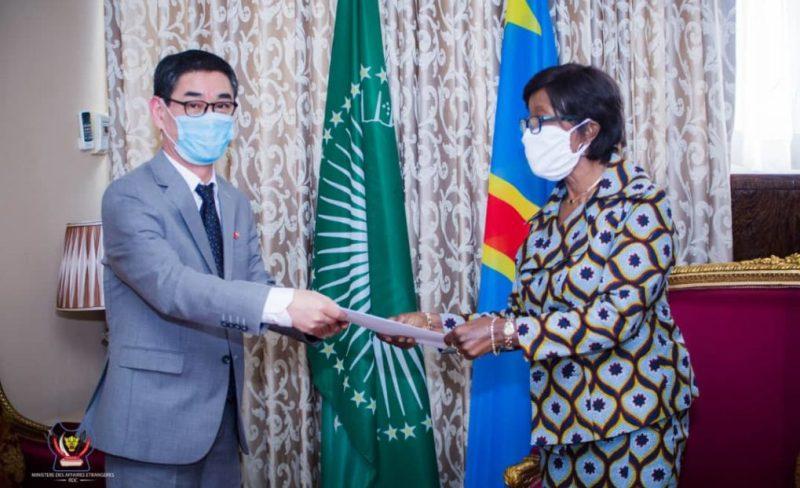 Le renforcement de la coopération entre la RDC et la Corée du Sud évoqué aux Affaires étrangères
