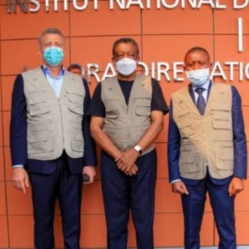 Les gouverneurs du Nord-Kivu et de l'Ituri au Secrétariat technique du CMR/Covid-19 à Kinshasa