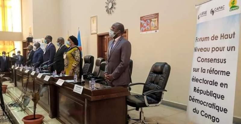 Début du Forum sur la réforme électorale en RDC