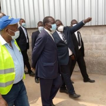 En visite au Kwango, le Premier ministre Ilunkamba découvre le désastre de Bukangalonzo