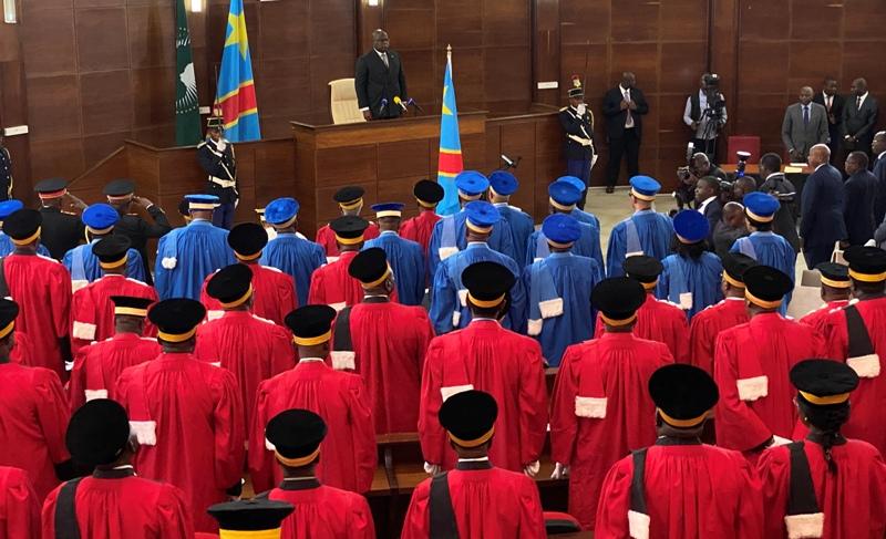 Les Hauts magistrats ont prêté serment devant Félix Tshisekedi
