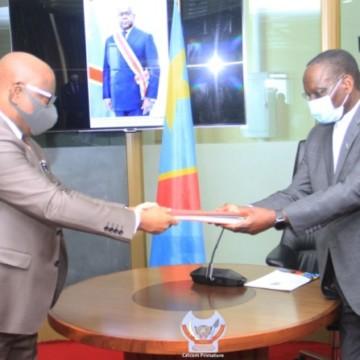 Signature du pacte de stabilité du cadre macroéconomique Gouvernement-BCC