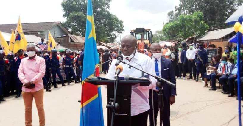 Le Gouverneur de la Tshopo, Walle Lufungula testé négatif au covid-19