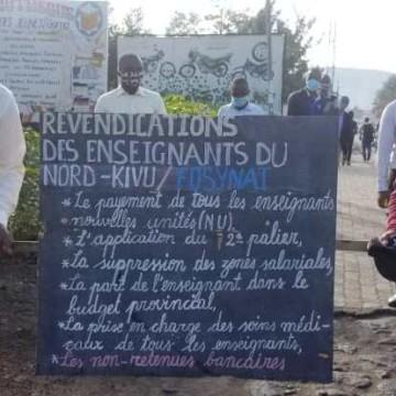 Goma : la FOSYNAT prête pour la rentrée scolaire prochaine