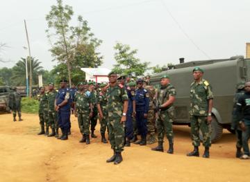 Le chef d'Etat Major Général à Beni pour une mission d'inspection et d'évaluation des opérations militaires