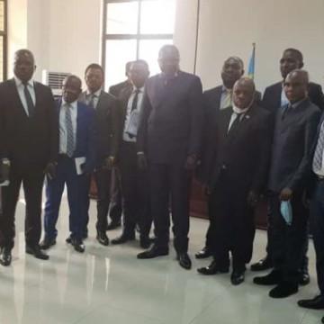 Tshopo : Gouverneur et députés provinciaux reçus par le Vice-ministre de l'Intérieur