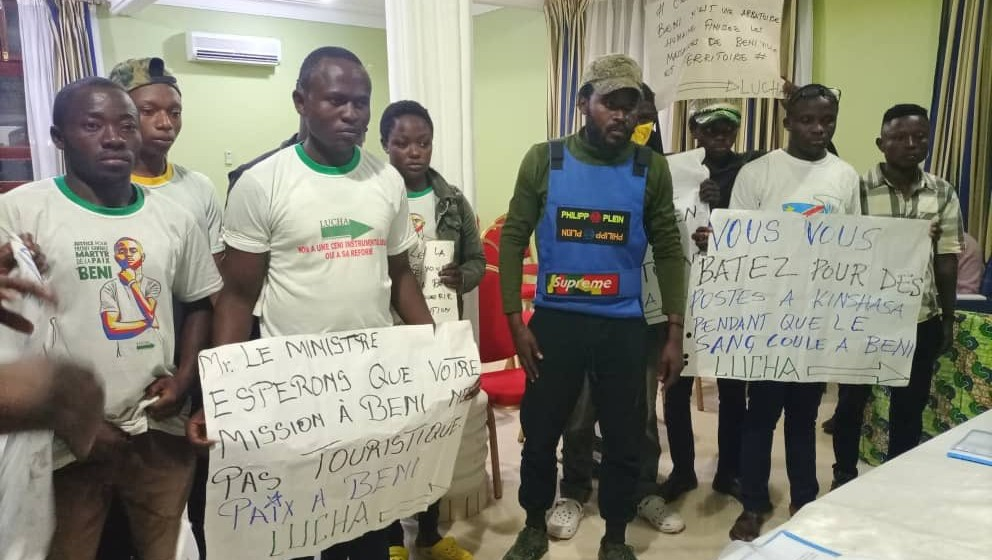 La LUCHA dénonce « les mauvais comportements de certains officiers militaires » déployés à Beni