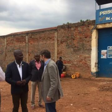 Lubumbashi : des prisonniers déplacés de la prison de la Kasapa