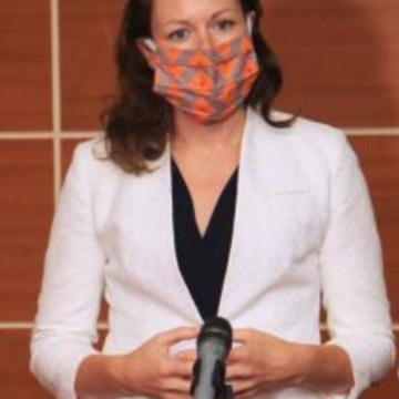 Emily Maltman reçue en audience par le Premier Ministre