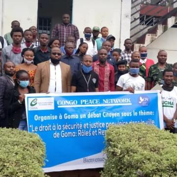 Goma : Autorités et jeunes ensemble contre l'insécurité et les justices populaires