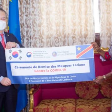 La Corée du Sud accompagne la RDC dans la lutte contre la Covid-19