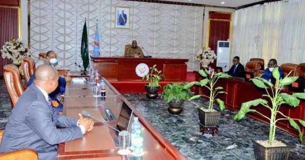 Félix Tshisekedi a conféré avec le bureau du Conseil Supérieur de la Magistrature