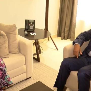 Jean Claude Gakosso porteur d'un message de Sassou Nguesso à Félix Tshisekedi