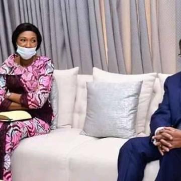 Félix Tshiskedi a reçu Thambwe Mwamba et Jeanine Mabunda autour de la Cour constitutionnelle