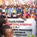Manifestations à Bukavu et Goma pour exiger la libération de Vital Kamerhe