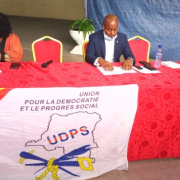 La jeunesse interfédérale du grand Equateur et de la province Oriental de l'UDPS affute les armes pour 2023