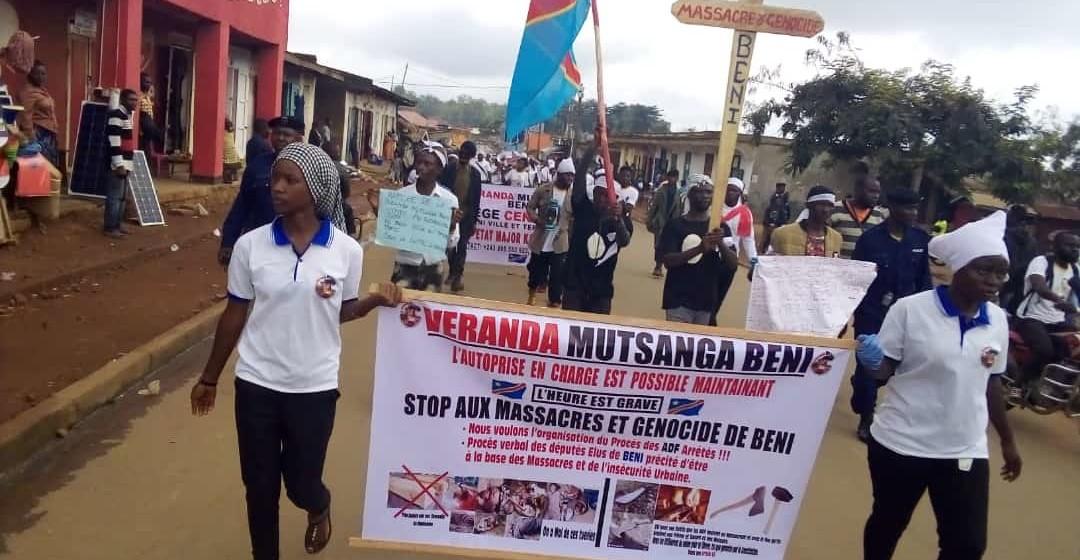 En réaction à l'évasion à Kangbayi, Véranda Mutsanga décrète une série de villes mortes