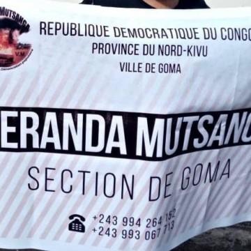 A Goma, Véranda Mutsanga contre l'insécurité à l'Est
