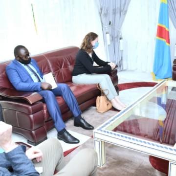 Nord-Kivu : la situation sécuritaire au cœur d'un échange entre le gouverneur Carly et l'ambassadrice de la grande Bretagne en RDC